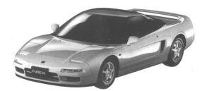 Honda NSX - R 1994 г.