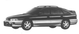 Mitsubishi Galant SPORTS GT 1994 г.