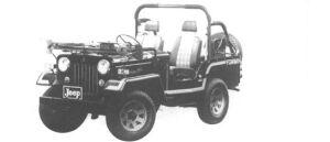 Mitsubishi Jeep J55 1994 г.