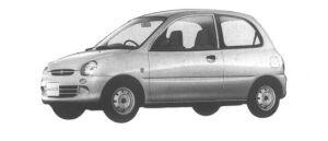 Mitsubishi Minica 3 DOORS Pf (M/T) 1994 г.