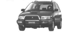 Mitsubishi RVR X3 2000 DOHC TURBO 1994 г.