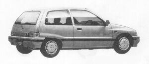 Daihatsu Charade KISSA 1.0 3DOOR 1991 г.