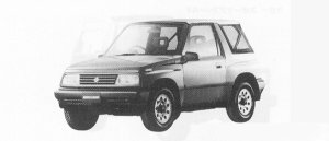 Suzuki Escudo  1991 г.