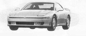 Mitsubishi Gto TWIN TURBO 1991 г.
