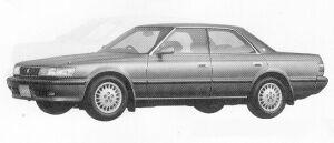 Toyota Chaser 2.5 AVANTE 1991 г.