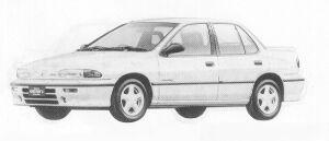 Isuzu Gemini SEDAN 1600 DOHC  IRMSCHER 1991 г.