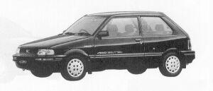 Subaru Justy 4WD 3DOOR MYMEII ECVT 1991 г.