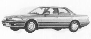 Toyota Mark II HARD TOP 2.5 GRANDE 1991 г.