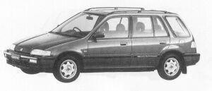 Honda Civic Shuttle RTI (4WD) 1991 г.