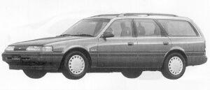 Mazda Capella CARGO 2000P.W.S. DIESEL GL-X 1991 г.