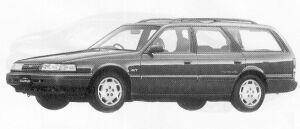 Mazda Capella CARGO 2000DOHC GT-4WD 1991 г.