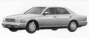 Nissan Cedric V30 TWIN CAM TURBO BLOAM VIP 1991 г.