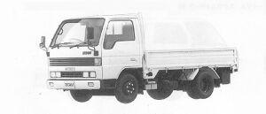 Mazda Titan 1.5T STANDARD CAB& BODY, FULL W&L 2500CC 1991 г.