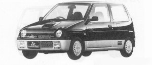 Suzuki Alto Works TURBO i.e. 1991 г.