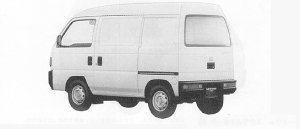 Honda Acty VAN PRO-B 1991 г.