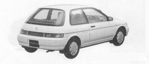 Toyota Tercel 1300EFI 1991 г.