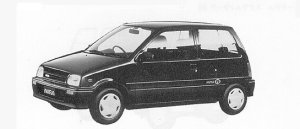 Daihatsu Mira J 1991 г.