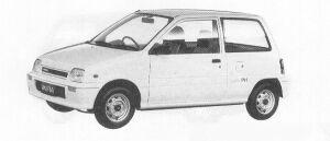 Daihatsu Mira 3DOOR PIT 1991 г.