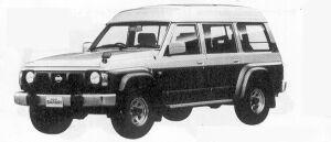 Nissan Safari VAN EXTRA HIGH ROOF GRAN ROAD 4200 1991 г.