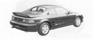 Toyota MR-2 G-LIMITED 1991 г.