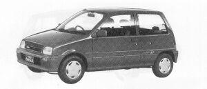 Daihatsu Mira 3DOOR J-4WD 1991 г.