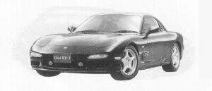 Mazda Efini RX-7 TYPE-X 1991 г.