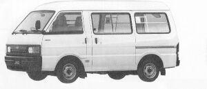 Mazda Ford J80 VAN HIGH ROOF 5DOOR DOUBLE TIRE 2000 D 1991 г.
