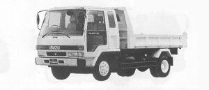 Isuzu Forward DUMP 195PS 4T 1991 г.