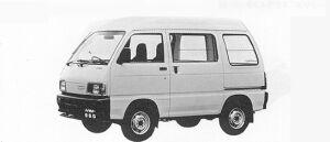 Daihatsu Hijet VAN 4WD HIGH ROOF SUPER DELUXE 1991 г.