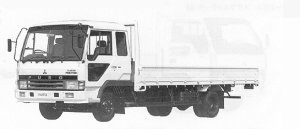 Mitsubishi Fighter 4T WIDE CAB TURBO 1991 г.