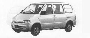 Nissan Vanette SERENA CARGO 4DOOR DIESEL 2000LX 1991 г.