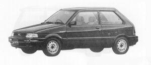 Subaru Justy 3DOOR  MYME a 1991 г.