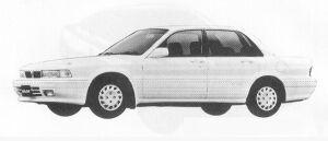 Mitsubishi Galant 1.8 DIESEL TURBO MF 1991 г.