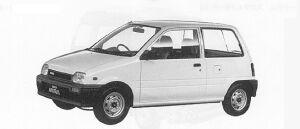 Daihatsu Mira 4WD-A 1991 г.