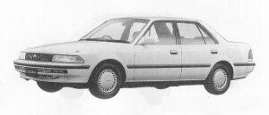 Toyota Corona SEDAN 1.5 SELECT SALOON 1991 г.