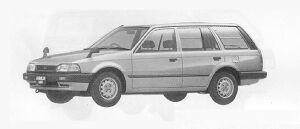 Mazda Familia VAN 4WD 1600 DX 1991 г.