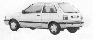 Nissan March 3DOOR HATCH BACK I-Z-F 1991 г.