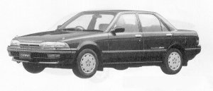 Toyota Carina SEDAN FULL TIME 4WD 1600SE 1991 г.