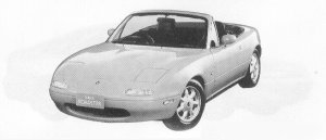 Mazda Eunos Roadster SPECIAL PACKAGE 1991 г.