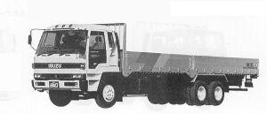 Isuzu 810 CXZ (6*4) V340PS 10.75T 1991 г.