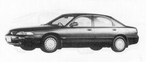 Mazda Ford Telstar SEDAN 20i 1991 г.