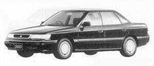 Subaru Legacy 4WD 4DOOR SEDAN 2.0L BRIGHTON 1991 г.