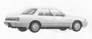 Toyota Cresta 2.5 SUPER SCUT G 1991 г.