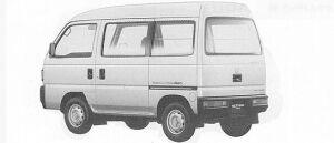 Honda Acty VAN SDX 4WD 1991 г.
