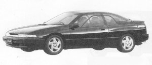 Subaru Alcyone SVX  VERSION E 1991 г.