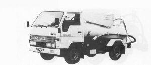 Toyota Dyna VACUUM CAR 1800L 1991 г.
