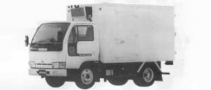 Nissan Atlas 2.0T FRP MEDIUM TEMPERATURE REFRIGERATOR 1991 г.