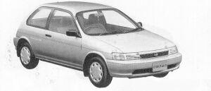 Toyota Corolla II WINDY 4WD 1991 г.
