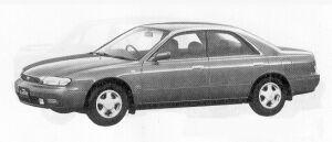Nissan Bluebird 4DOOR HARD TOP 2000ARX-Z 1991 г.