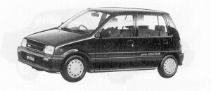 Daihatsu Mira 5DOOR GRAN EFI  LIMITED 1991 г.